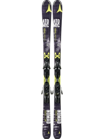 Горные лыжи Atomic Smoke Ti + XTO 12 14/15