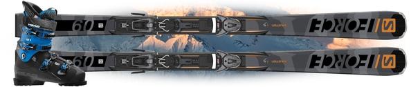 Горные лыжи Salomon S/Force 9 c креплениями Z 10 GW + Head Nexo LYT 100 (19/20)