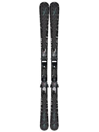 Горные лыжи с креплениями Elan Black Perla QT + EL 7.5 12/13