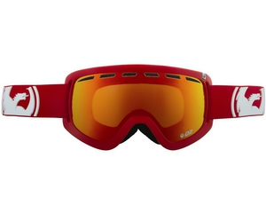 Маска Dragon D2 Solid Red / Red Ionized + Amber
