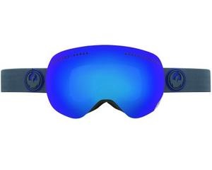 Маска Dragon APX Carbon / Dark Smoke Blue Ionized+Yellow Blue Ionized