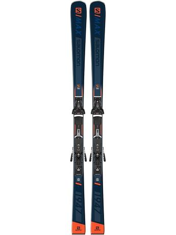 Горные лыжи Salomon S/Max 1947 + крепления Z12 GW 19/20