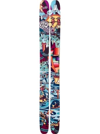 Горные лыжи с креплениями Atomic Bent Chetler + FFG 16 TEAM 11/12
