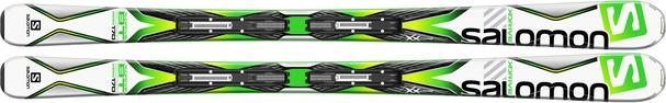 Горные лыжи Salomon X-Drive 8.0 BT (163) + крепления Lithium 10 (15/16)