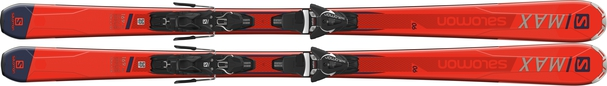Горные лыжи Salomon S/Max 6 + крепления Z 11 Walk (18/19)