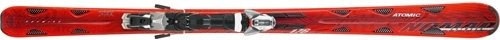 Горные лыжи Atomic Crimson + крепления XTO 412 (08/09)