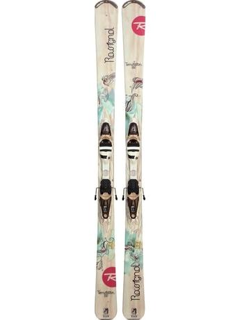 Горные лыжи с креплениями Rossignol Temptation 82 WTPI2 + Saphir 110L TPI2 11/12