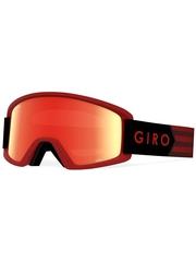 Маска Giro Semi Dark Red Sierra / Amber Scarlet 40 + Yellow 84
