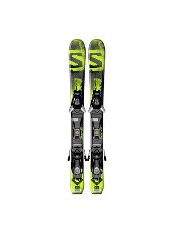 Горные лыжи Salomon Q-Max Jr XS + крепления EZY5 14/15