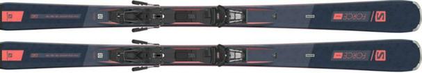 Горные лыжи Salomon S/Force Fever + крепления M12 GW F80 (21/22)