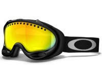 Маска Oakley A-Frame Jet Black / Fire Iridium