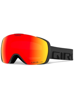 Маска Giro Contact Grey Wordmark / Vivid Onyx 14 + Vivid Infrared 62