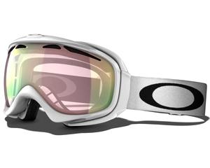 Маска Oakley Elevate Polished White / VR50 Pink Iridium