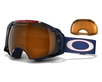 Маска Oakley Airbrake Terje Haakonsen Sign. Nordic Blue / Black Iridium & Persimmon