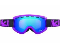 Маска Dragon D2 Pop Purple / Blue Ion + Amber