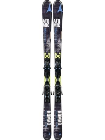 Горные лыжи Atomic Blackeye Ti + крепления XTO 12 14/15