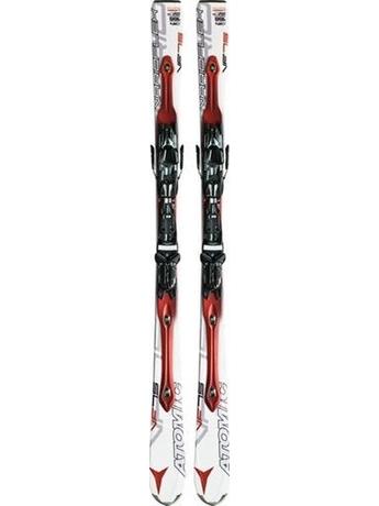 Горные лыжи с креплениями Atomic D2 VF 75 (white-red) + NEOX TL 12 OME 11/12
