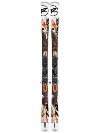 Горные лыжи с креплениями Rossignol Alias 74 Composite + Xelium 100 L BK Orange 12/13