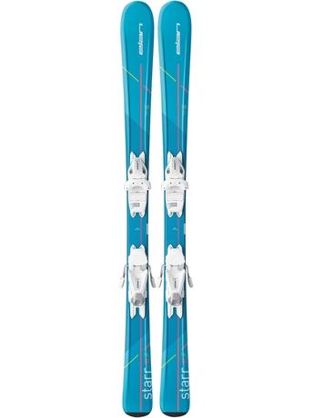 Горные лыжи Elan Star QT + крепления EL 4.5 (110-120) 16/17