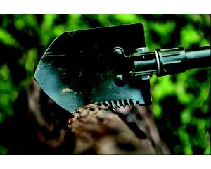 Лопата разборная AceCamp Folding Shovel With Pick 2588