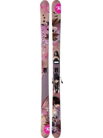 Горные лыжи с креплениями Rossignol Trixie JIB + Saphir 110L 11/12