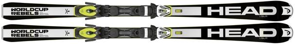 Горные лыжи Head WC Rebels i.SLR + крепления PRD 11 (15/16)