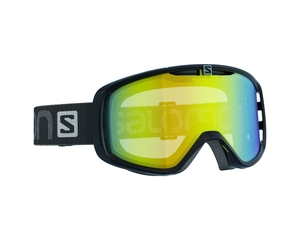 Маска Salomon Aksium Black / Light Yellow Multilayer Low Light