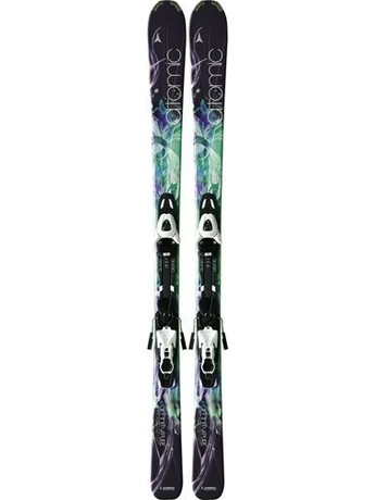 Горные лыжи с креплениями Atomic Affinity Pure + XTL 9 LADY OME 11/12