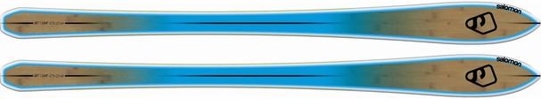 Горные лыжи без креплений Salomon BBR 8.0 (12/13)
