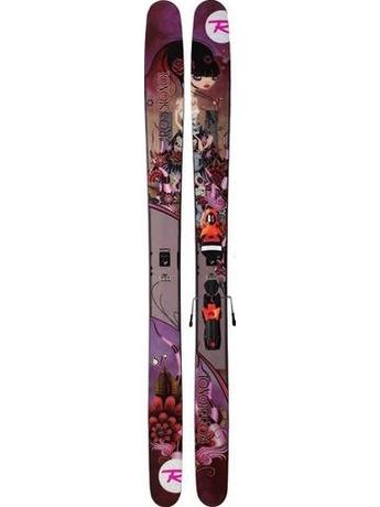 Горные лыжи с креплениями Rossignol S7 Women + Axial2 11/12