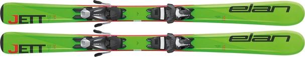 Горные лыжи Elan Jett QT + крепления EL 4.5 (110-120) (16/17)
