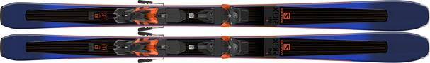 Горные лыжи Salomon XDR 88 Ti + крепления Warden MNC 13 (18/19)