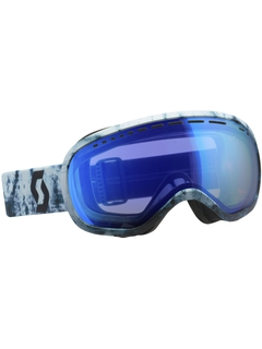 Маска Scott Off-Grid Blue/Black / Blue Chrome