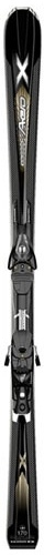 Горные лыжи Salomon Aero X + крепления z12 09/10