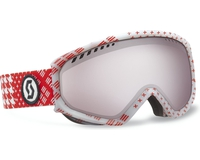 Маска Scott Faze Patternmash Red / Silver Chrome