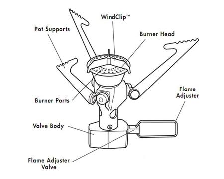 Горелка MSR Pocket Rocket 2