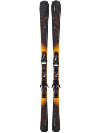 Горные лыжи Elan Amphibio 12 Ti Fusion + крепления EL 11.0 15/16