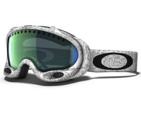 Маска Oakley A-Frame White Factory Text / Emerald Iridium