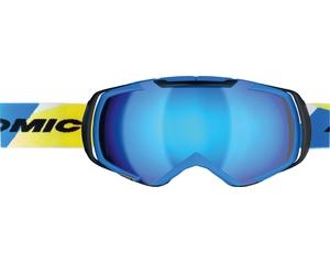 Маска Atomic Revel 3 M Racing Blue / Blue Lens + Orange Lens