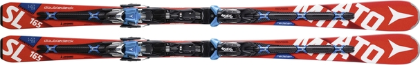 Горные лыжи Atomic Redster Doubledeck 3.0 SL (165) + X 12 TL (15/16)