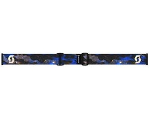 Маска Scott Linx Cosmic Camo Blue / Green Chrome + Light Amplifier