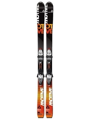 Горные лыжи с креплениями Fischer Motive 74 Powerrail + RS11 Powerrail 12/13