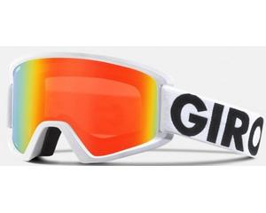 Маска Giro Semi White Futura / Persimmon Blaze + Clear