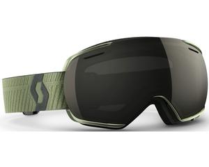 Маска Scott Linx Halo Green / Solar Black Chrome + Light Amplifier