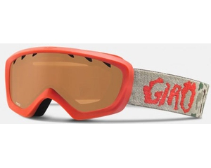 Маска Giro Chico Glowing Red Camo / Amber Rose
