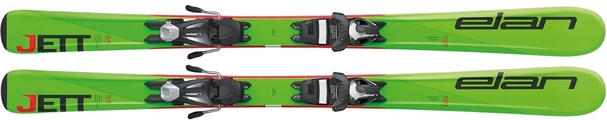 Горные лыжи Elan Jett QS + крепления EL 4.5 (100-120) (17/18)