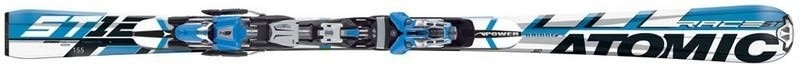 Горные лыжи Atomic ST 12pb + крепления Neox 412 76 Alu blue 2007 (06/07)