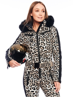 Комбинезон с мехом Goldbergh Cougar Fur