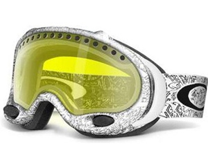 Маска Oakley A-Frame Oakley Text / H.I. Yellow
