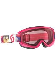 Детская маска Scott Agent Jr Pink / Enhancer